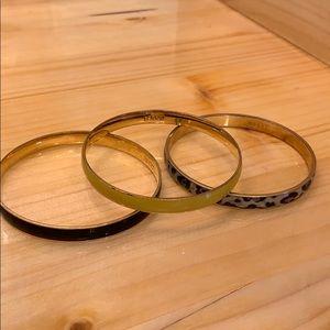 J. Crew bangle bracelets